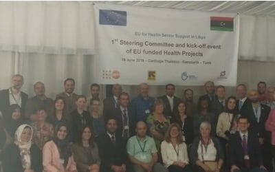 The EU and The Libyan Ministry of Health launch five funded projects in The Libyan health sector