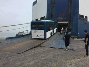First batch of public transport buses shipped from China