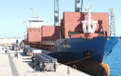 LISCO exports steel shipment to Lebanon