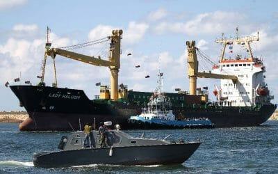 Benghazi port bustling again despite Libya's divisions