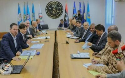 US security consulting team meets officials in Tripoli