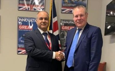 Libya reviews economic relations with the UK