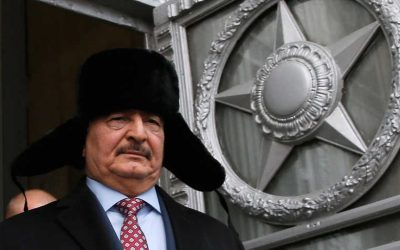 Is Russia pulling support from Libyan strongman Hifter?