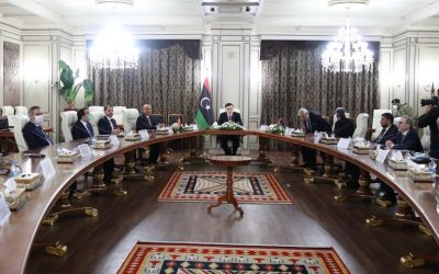 Turkey says lasting ceasefire discussed with Libyan PM
