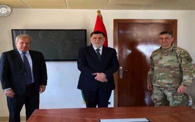 Intel: AFRICOM commander visits Libya's UN-backed prime minister in Tripoli