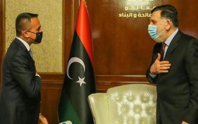 Libya, Italy discuss return of Italian oil companies to oil-rich country