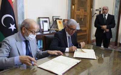 Al-Kabir, Bashagha sign anti-corruption and money laundering agreement