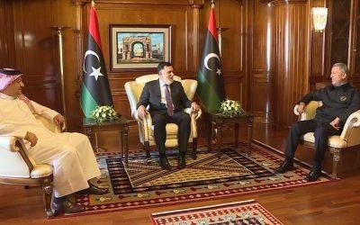 Turkey, Libya, Qatar agree to ink military deal