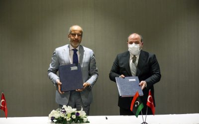 Turkish, Libyan officials sign economy, technology cooperation protocol