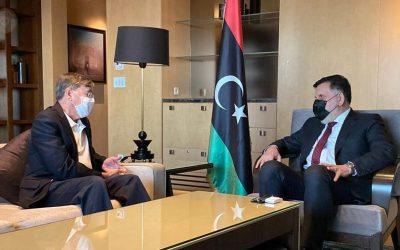 Al-Sarraj and US Ambassador in Turkey discuss the expansion of strategic partnership