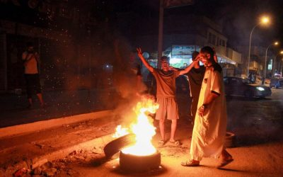 Libyans burn Benghazi government building in protests over living conditions