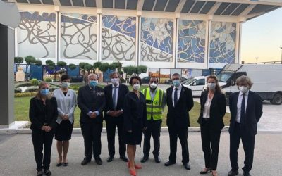 Eight European ambassadors arrive in Libya to present their credentials