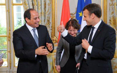 Egypt's Abdel Fattah El Sisi in France for talks on eastern Mediterranean and Libya