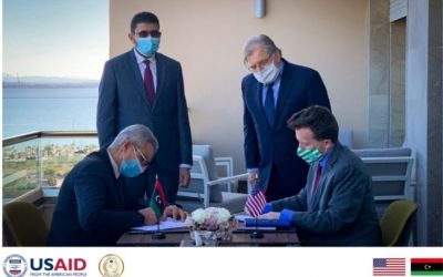 Libya and USAID sign agreement to promote fiscal transparency and improve public financial management