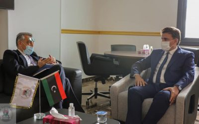 Libya, Italy discuss activation of military cooperation agreements