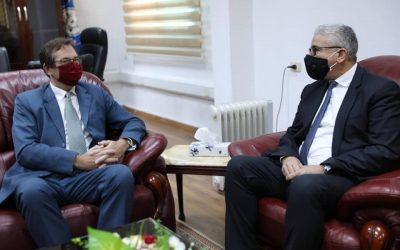 Interior Minister, UK ambassador to Libya discuss training of security cadres