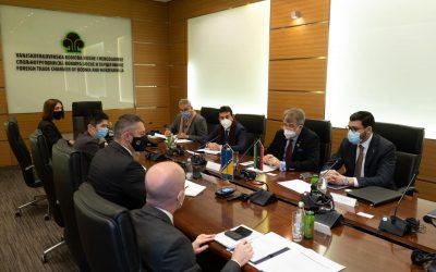 Libya, Bosnia discuss cooperation