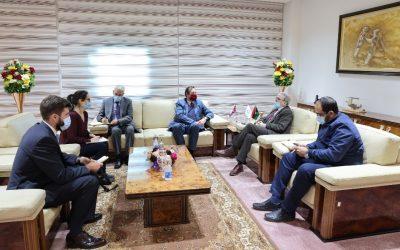 Sanallah, UK ambassador discuss return of British companies to Libya