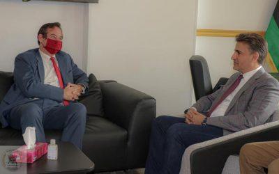 UK ambassador to Libya says ready to help in demining efforts