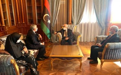 Iran's ambassador submits credentials to Libyan Presidential Council chief