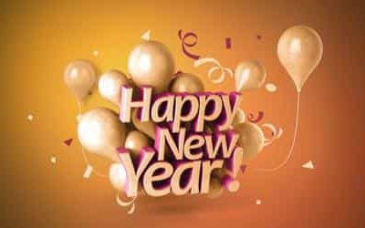 A new year, a new beginning, peace, health and happiness to all