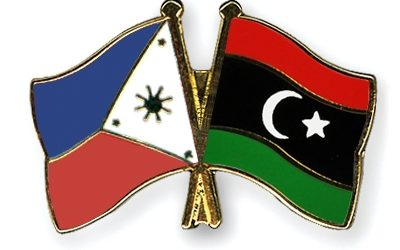 Kajman Meets Charge D'Aaffairs Of Embassy Of The Philippines In Libya.