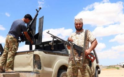 Libya: CNN says Russian mercenaries digging giant trench