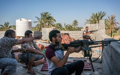 Libyan strife: from armed conflict to political battle