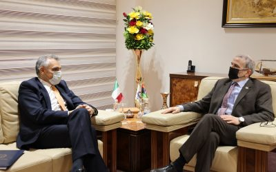 NOC Chairman discusses return of Italian firms to Libya