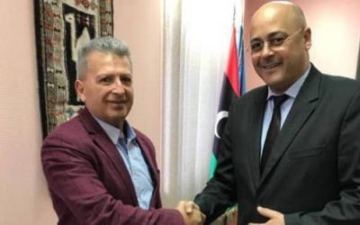 Foreign Ministry discusses exchange of visits between Libyan and Ukrainian businessmen