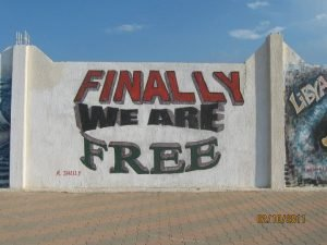 Libya's 2011 17 February Revolution graffiti and murals captured the mood at the time