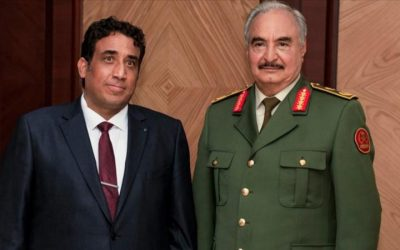 Haftar, Dbeibah and Menfi set to play key roles in Libya's quest for stability