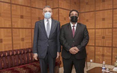 Menfi discusses with Italian ambassador bilateral relations