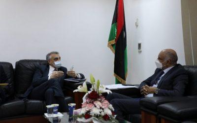 Italian ambassador hands Libyan Foreign Ministry maritime demarcation proposal