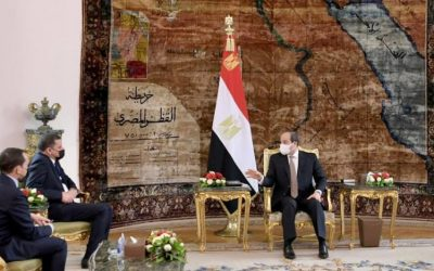 Sisi Says Egypt Ready to Help Libya Back on Right Path