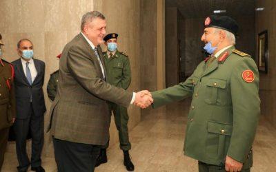 Dbeibeh Sets Conditions for Libya Govt, Meets UN Envoy