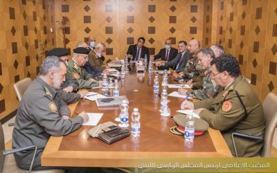 Menfi and Dbeibah discuss critical steps to unify the army