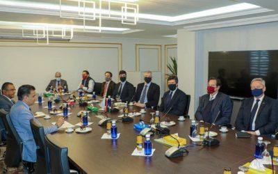 Al-Namroush discusses Libya's security with British military delegation
