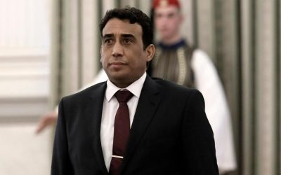 Libya's new President Mohamed Menfi urges reconciliation in visit to East