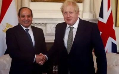 Sisi, Johnson discuss developments in GERD dispute, Libya