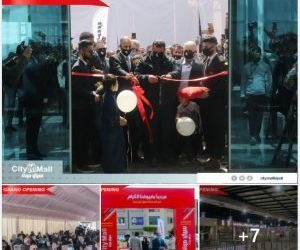 With over 200 outlets, Tripoli's largest shopping centre, City Mall, opens