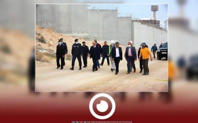 GECOL board of directors members inspect Tripoli power plant project
