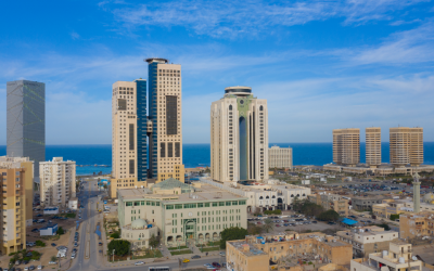 LIBYA'S PROMISE OF PEACE BRINGS NEW HOPE FOR BUSINESS