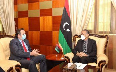 Libya, UK discuss economic cooperation