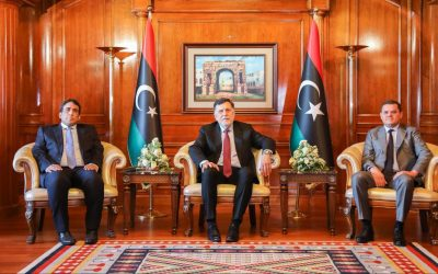 Al-Sarraj hands over power to new Presidential Council, Unity Government