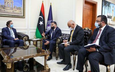 Libya's Interior Minister discusses with UK ambassador bilateral cooperation