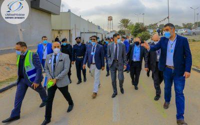 Maltese delegation visits Tripoli's Mitiga airport to prepare for flights resumption