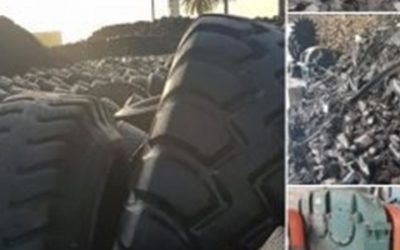 Libyan Recycling Plant Exports Tyre Crumb