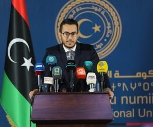 Libyan government's weekly press conference summary