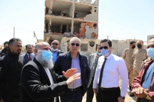 Ministry of Housing and Construction launches war rubble clearance programme